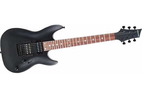 Laguna LE50 Short-Scale Electric Guitar Black Satin Finish